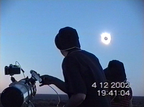 Black Sun - Moment of Totality in the Outback 2002 December 04